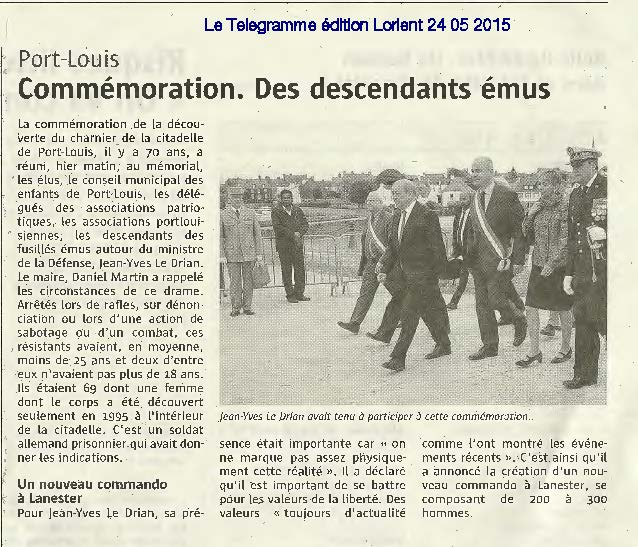 CEREMONIE DE PORT LOUIS PRESSE 24 05 2015 Page 2
