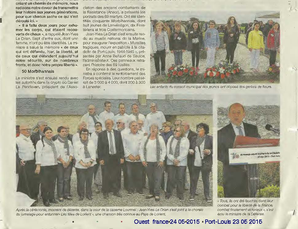 CEREMONIE DE PORT LOUIS PRESSE 24 05 2015 Page 5