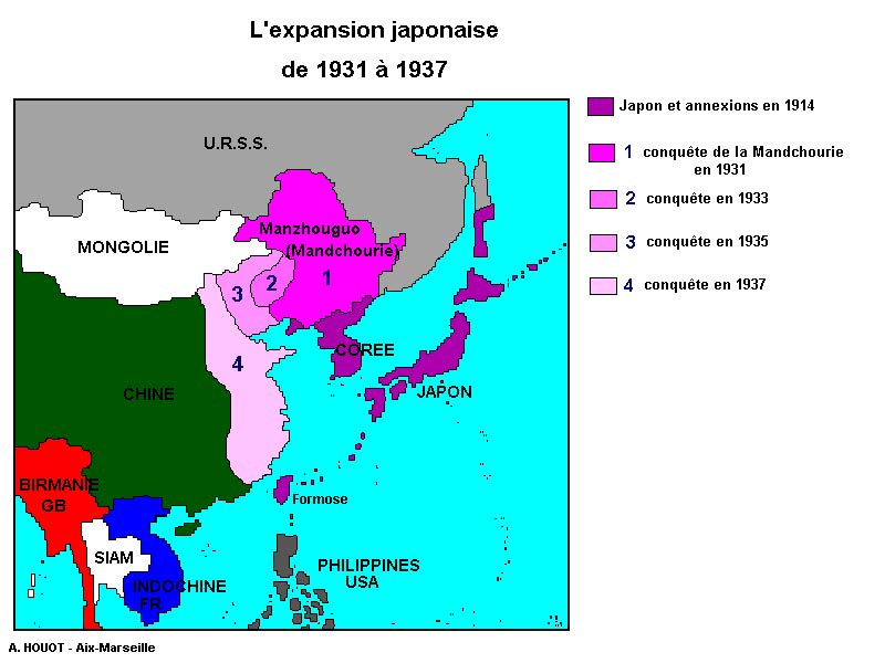 L'expansion japonnaise